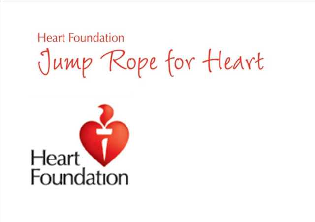 Jump rope for heart jump off day 16th september